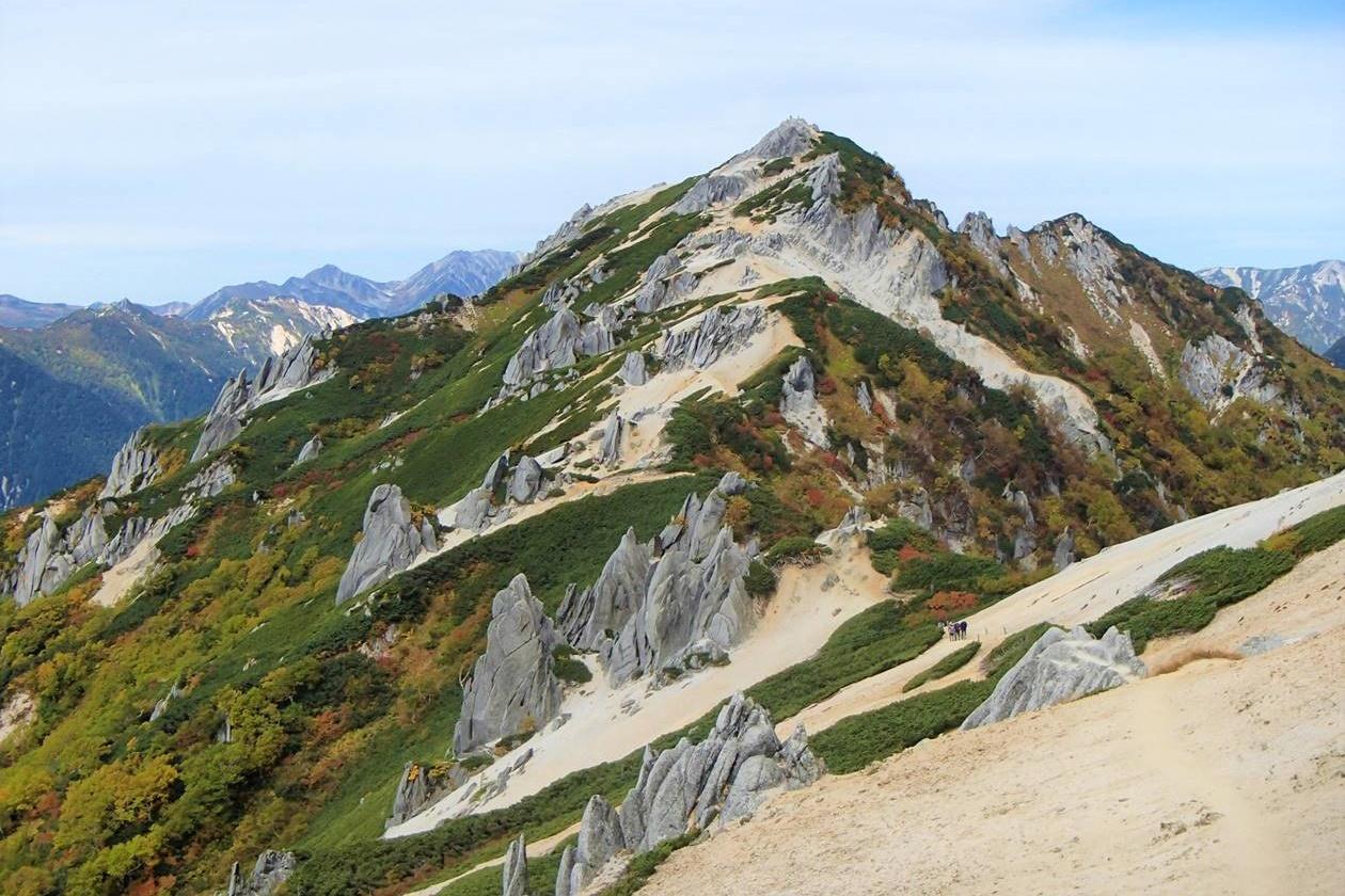 北アルプス・燕岳 紅葉登山