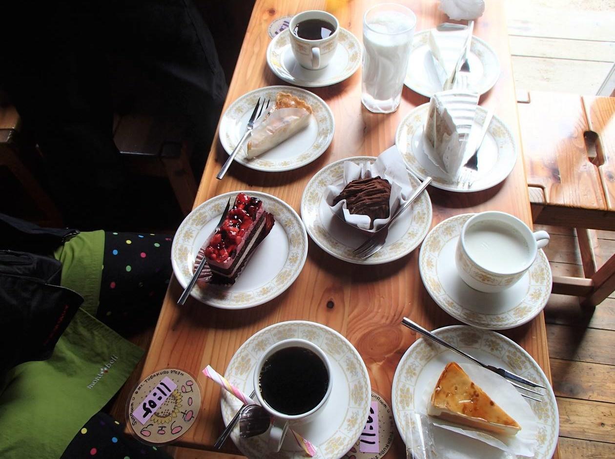 燕山荘のケーキフェア(食べ放題)