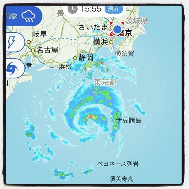 雨雲レーダー 横浜市都筑区