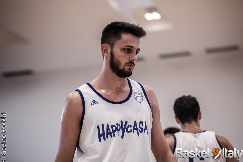 Luca Campogrande, New Basket Brindisi