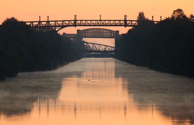 ship canal dawn 01 sep 19
