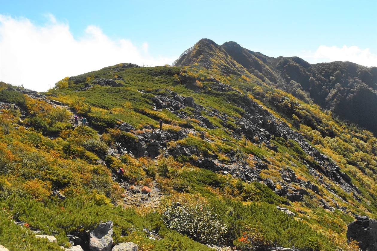 南アルプス・栗駒山 紅葉登山