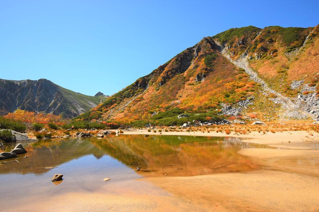 木曽駒ヶ岳・濃ヶ池 紅葉登山
