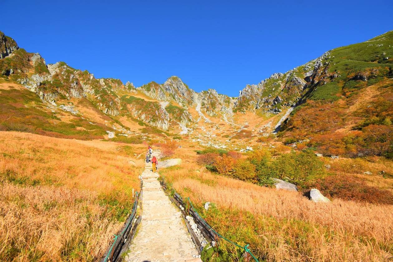 木曽駒ヶ岳(千畳敷カール)の紅葉