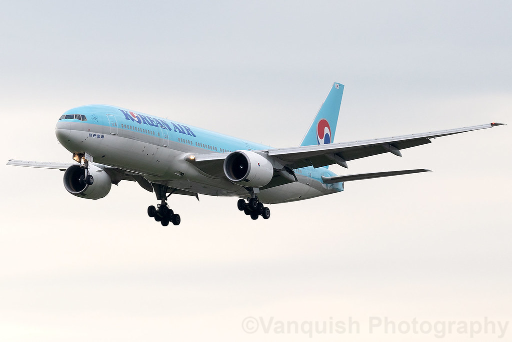 HL7531 Korean Airlines B777-200 Amsterdam