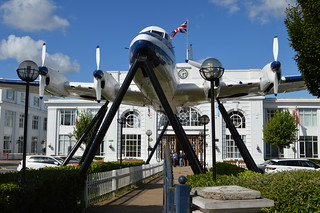 De Havilland Heron outside Croydon Museum | by Matt From London