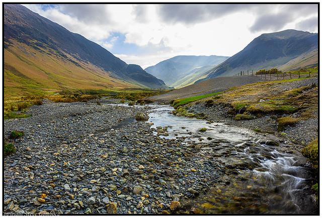 Newlands Beck along Derwent Fells Cumbria