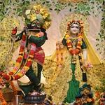 Hare Krishna Temple Ahmedabad Deity Darshan 08 Sep 2019