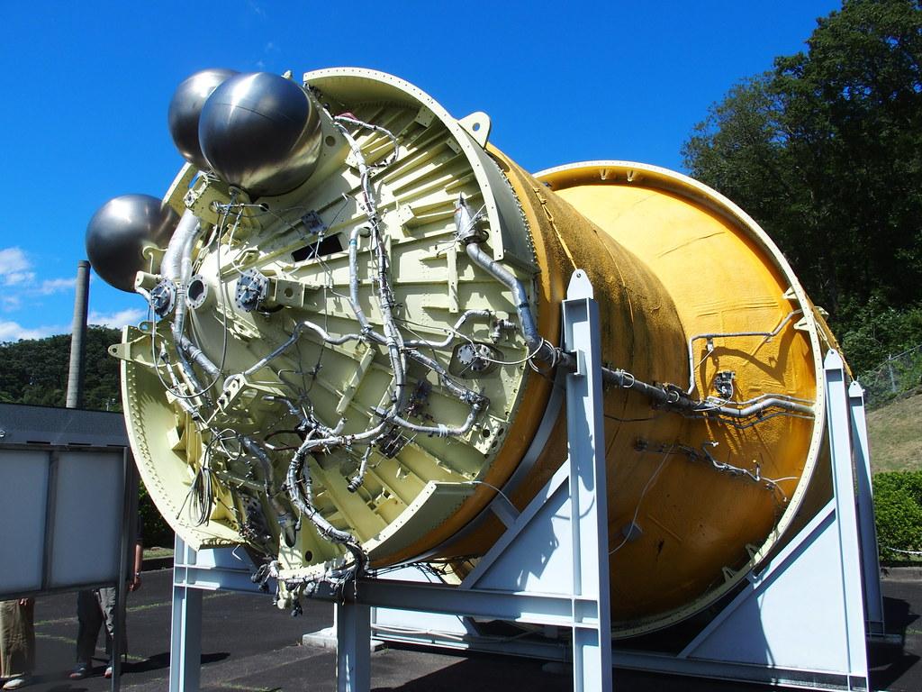 H-IIロケット第2段燃料タンク