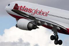 TC-AGD Atlas Global A330-200 Amsterdam