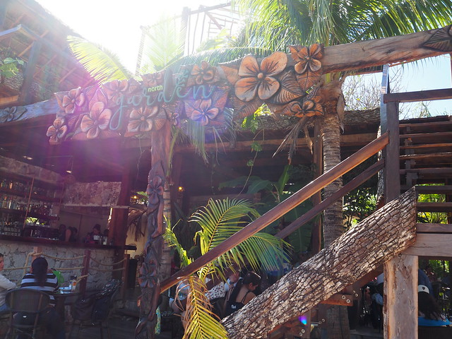 P1201725 North Garden Isla Mujeres cancun イスラムヘーレス ひめごと