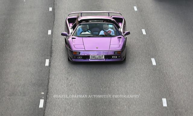 Lamborghini, Diablo VT Roadster, Wan Chai, Hong Kong