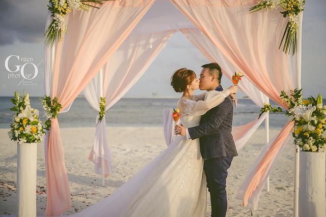 馬爾地夫海外婚禮