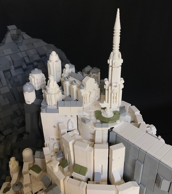 Minas Tirith - the Lord of the Rings - the Citadel