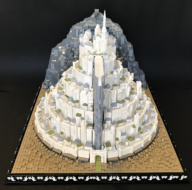 Minas Tirith - the Lord of the Rings