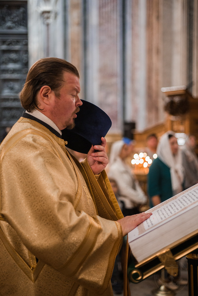 8 сенября 2019, Литургия в Исаакиевском соборе / 8 September 2019, Divine Liturgy in the Saint Isaac's Cathedral