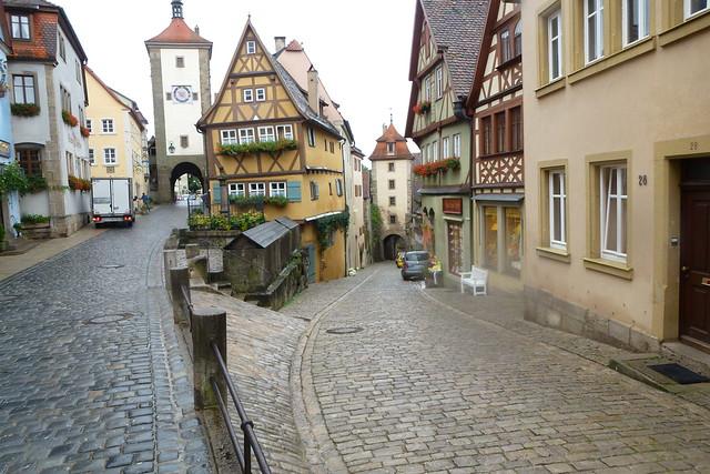 A walk through Rothenburg (13): The famous view