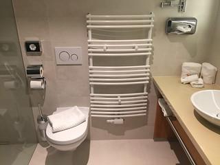 27 - Toilette & Handtuchwärmer - Hotel das Mei - Muttern