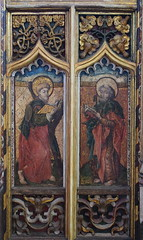 roodscreen: St Andrew and St Peter