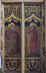 roodscreen: St Simon and St Jude