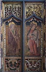 roodscreen: St James the Less and St Philip