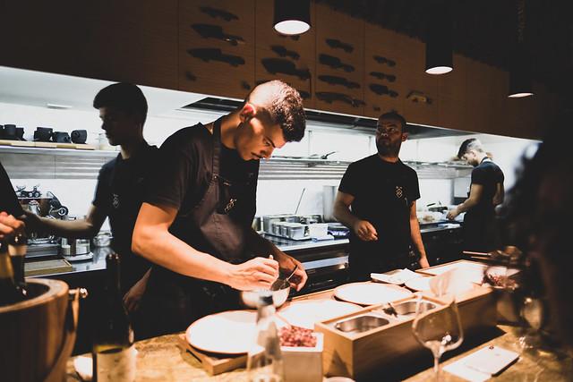 Chef Vasco and the team at Euskalduna Studio