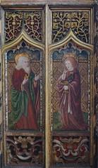 roodscreen: St Matthew and St John