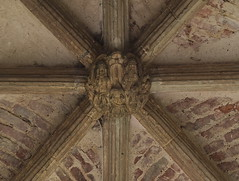 south porch: Coronation of the Queen of Heaven