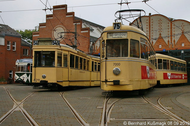 Europa, Deutschland, Berlin, Treptow-Köpenick, Köpenick, Wendenschloßstraße, Straßenbahnbetriebshof Köpenick
