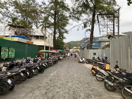 Entrance to Patong Beach, Phuket, Thailand