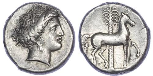 Siculo-Punic Silver Tetradrachm