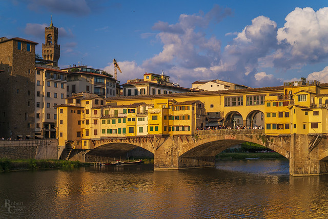 Ponte Vecchio Golden Hour