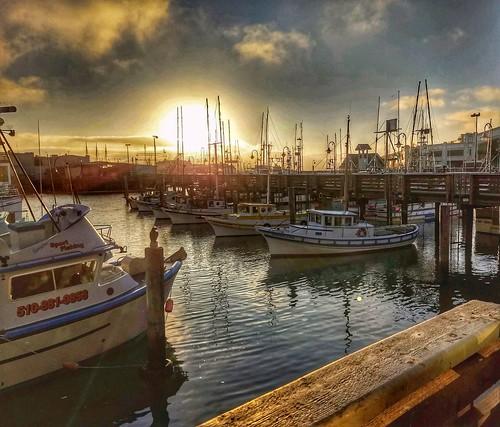 sliderssunday slide sunset sanfrancisco fishermanswharf boat pier wharf dock california waterfront hss