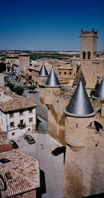 Palais royal (XIVe-XXe), Olite, comarque de Tafalla, communauté forale de Navarre, Espagne