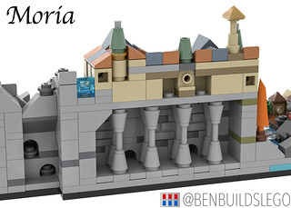Lego The Lord of the Rings: The Fellowship of the Ring Skyline (Moria) | by BenBuildsLego