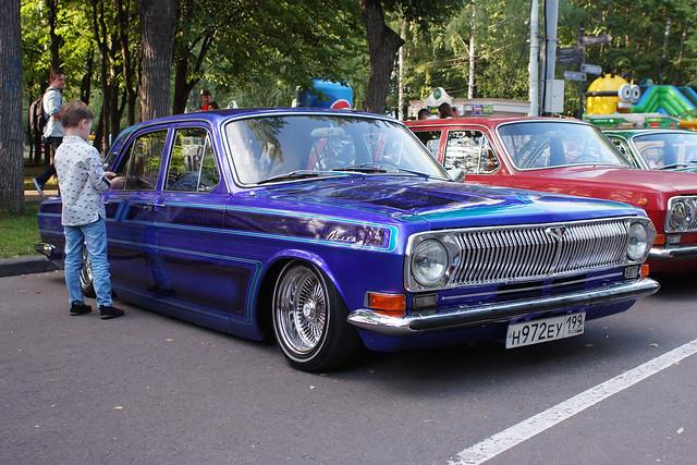 Autumn Retrofest in Sokolniki (Moscow)
