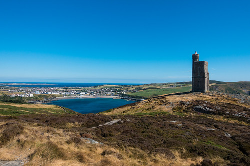 View to Milner's Tower and Port Erin