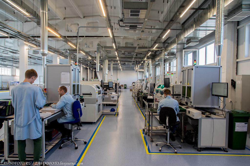 Крупнейший в России завод по  производству светотехнических решений