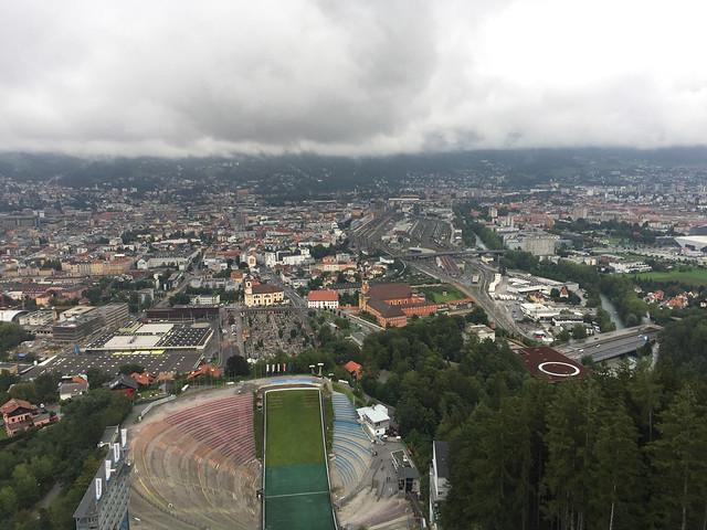 47 - Blick über Innsbruck 2 von der Bergisel Schanze