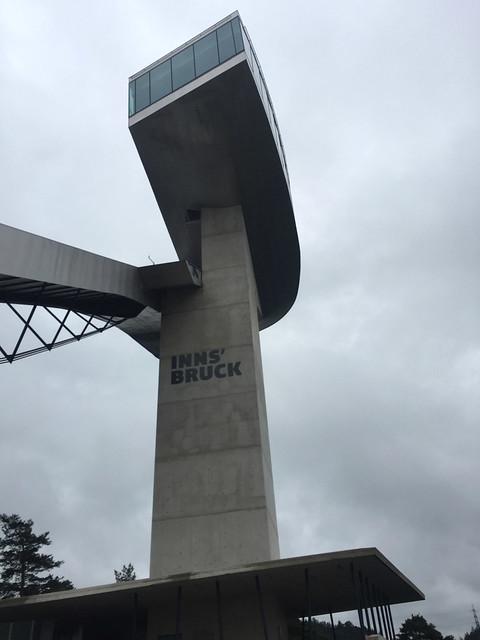 45 - Bergisel Schanze - Turm - Nahaufnahme