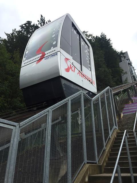42 - Bergisel Schanze - Schanzenlift - Nahaufnahme