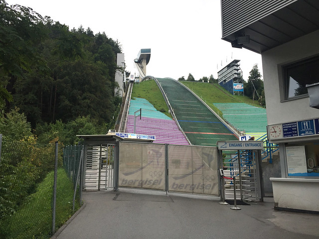 37 - Eingang zur Bergisel Schanze