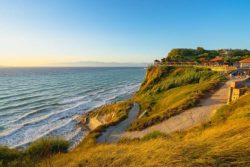 matthias hertwig logas beach sunset griechenland küste weg bar seascape mittelmeer klippen korfu sony a7ii