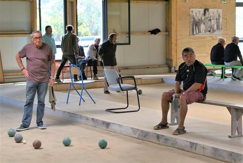 07/09/2019 - Plougasnou : Concours de boules plombées en doublette formée