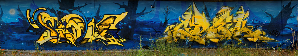 Graffiti 2019 in Karlsruhe