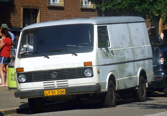 1985 VW LT31 petrol LY91206 still on the roads of Denmark -  a very rare survivor still wearing original plates