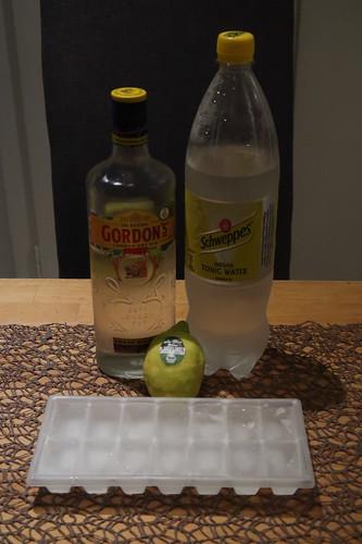 Zutaten für Gin Tonic