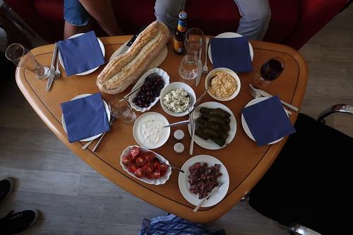 Mediterrane Leckereien (Tischbild)