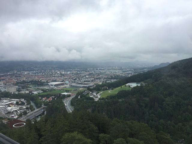 46 - Blick über Innsbruck von der Bergisel Schanze