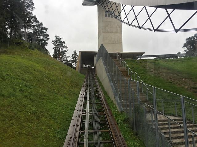 44 - Im Schanzenlift - Bergisel Schanze - Obere Station